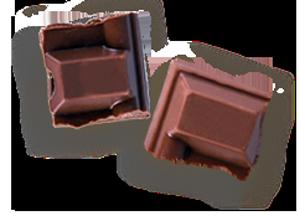 Chocolat carrés LA PATELIERE