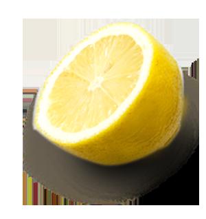 Citron coupé LA PATELIERE