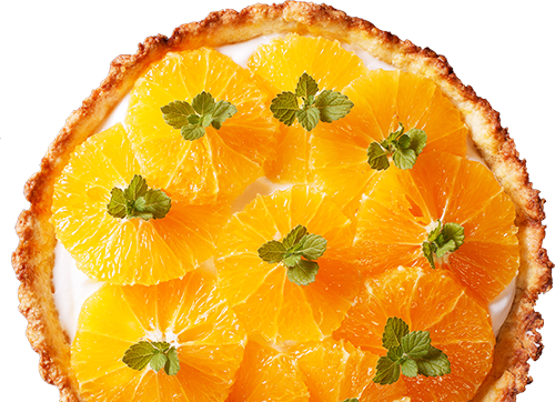 Tarte à l'orange LA PATELIERE