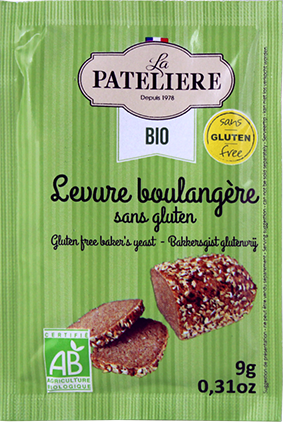 Levure boulangere sans gluten bio LA PATELIERE