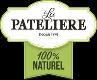 100% Naturel Logo LA PATELIERE