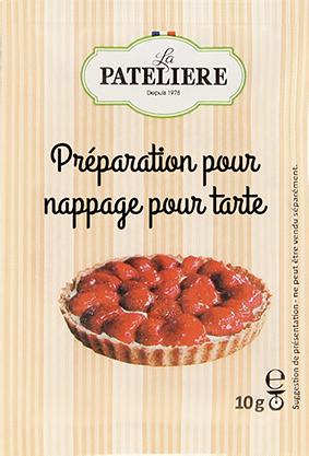 Préparation pour nappage pour tartes brillant LA PATELIERE