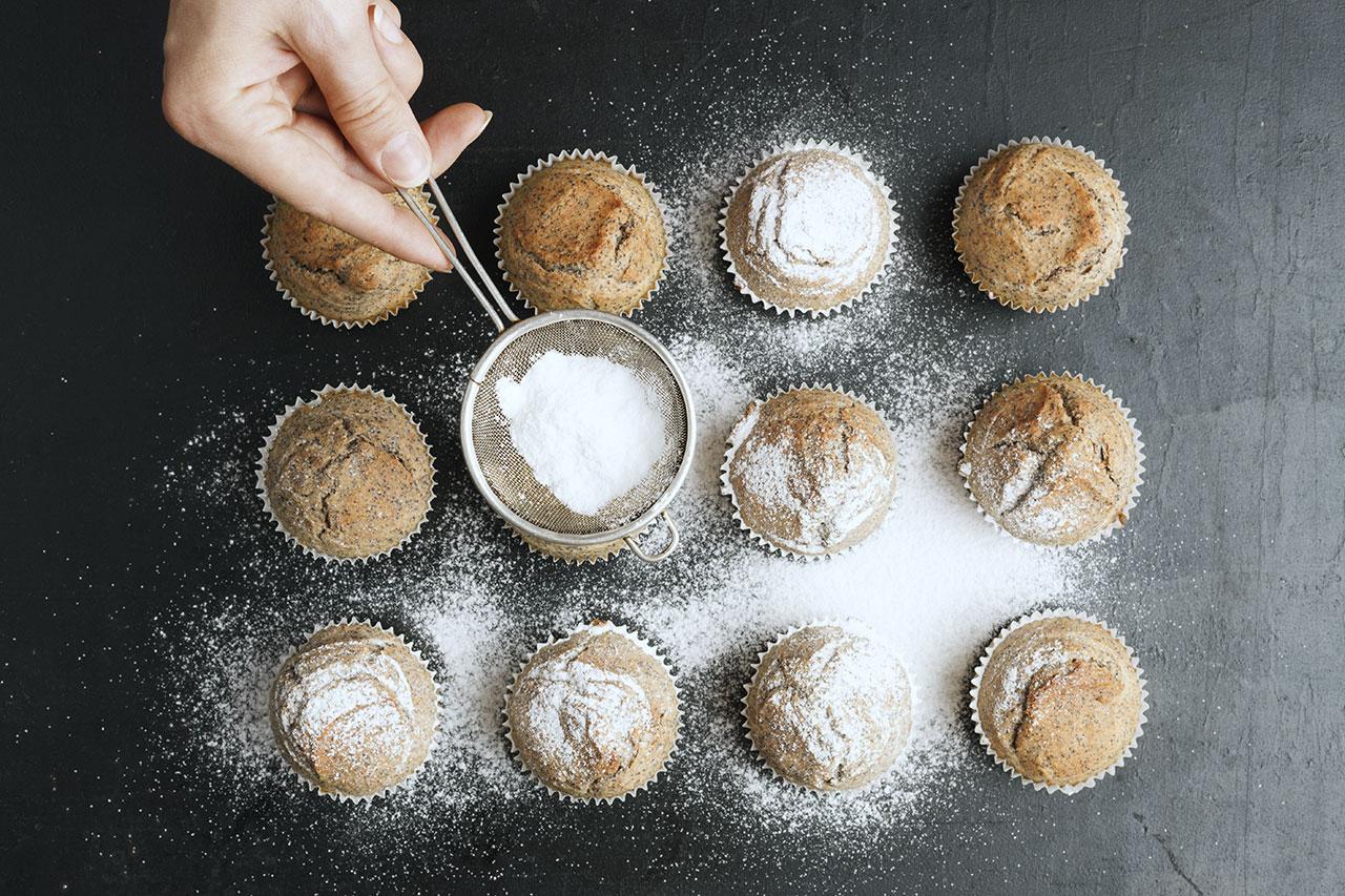 Cupcakes sucre glace LA PATELIERE