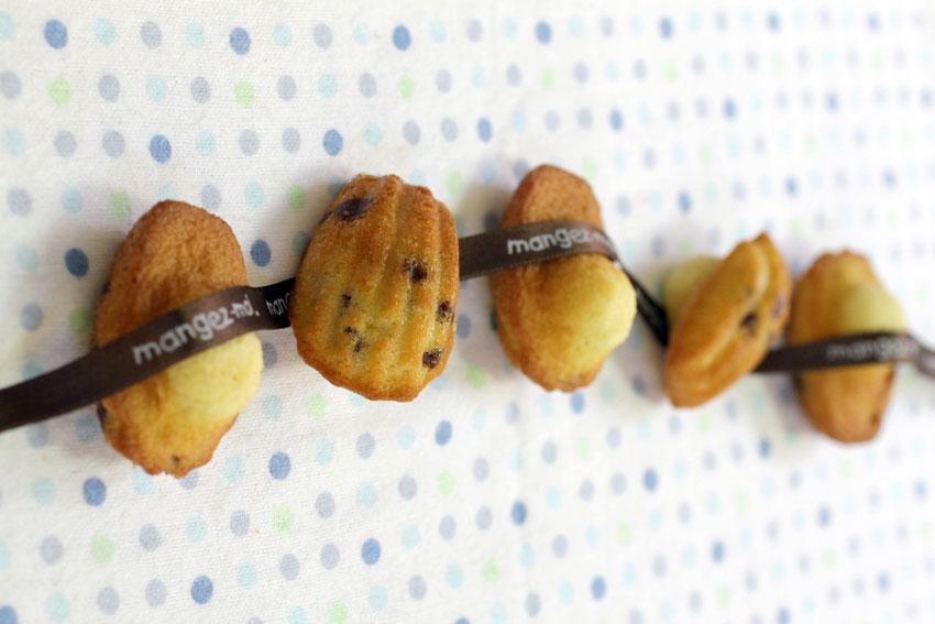 Madeleines pépites de chocolat recette LA PATELIERE