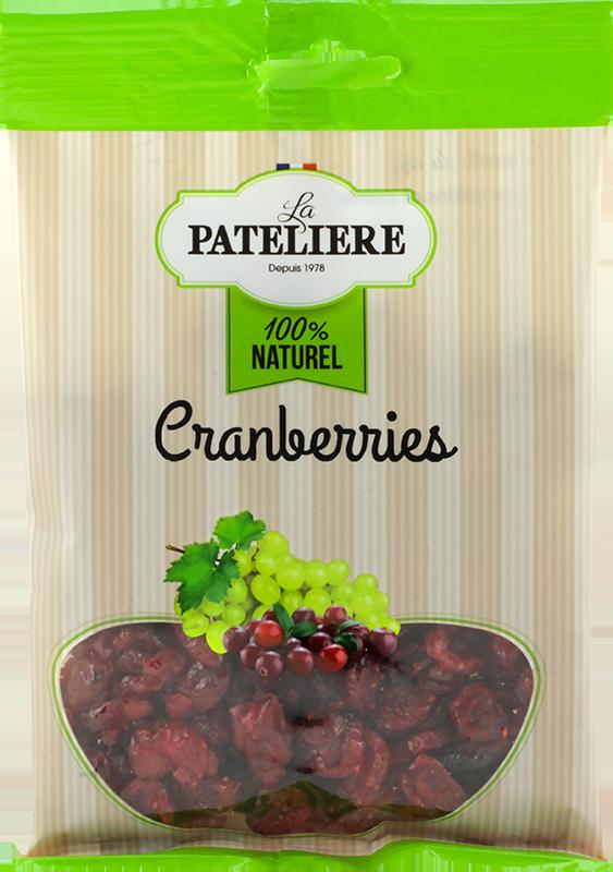 Cranberries canneberges bio LA PATELIERE