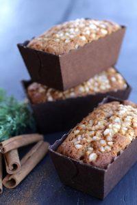 Petits cakes façon pain d'épices recette Noël LA PATELIERE