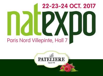 NATEXPO Paris 2017 LA PATELIERE