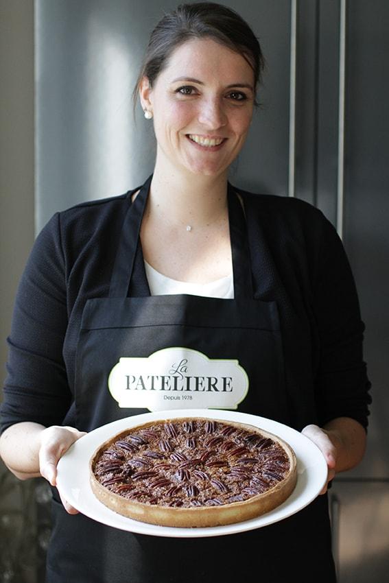 Pecan Pie tarte noix de pécan recette LA PATELIERE