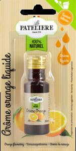 Arôme orange liquide LA PATELIERE