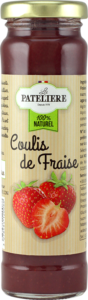 Coulis de fraise naturel LA PATELIERE