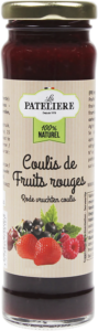 Coulis de fruits rouges bio LA PATELIERE
