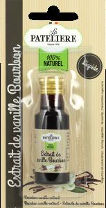 Extrait de vanille Bourbon liquide