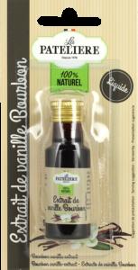 Extrait de vanille Bourbon liquide LA PATELIERE