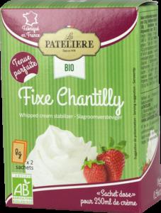 Fixe chantilly bio LA PATELIERE