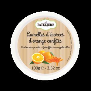 Lamelles d'écorces d'orange confites LA PATELIERE