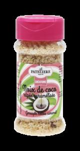 Noix de coco râpée caramélisée