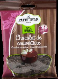 Chocolat de couverture palets glaçages nappages LA PATELIERE