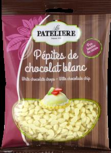 Pépites chocolat blanc LA PATELIERE
