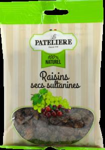 Raisins secs sultanines LA PATELIERE