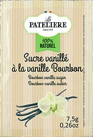Sucre vanillé à la vanille Bourbon LA PATELIERE