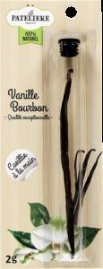 Gousse de vanille Bourbon LA PATELIERE