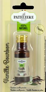 Vanille Bourbon en poudre LA PATELIERE