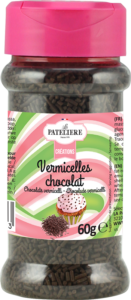 Vermicelles en chocolat