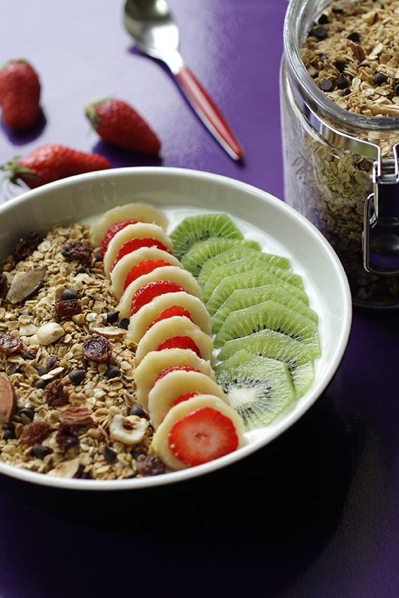 Yogurt bowl fromage blanc fruits recette LA PATELIERE
