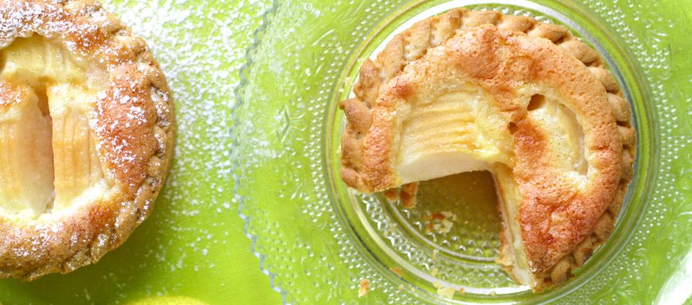Tartelettes bourdaloue poire recette LA PATELIERE