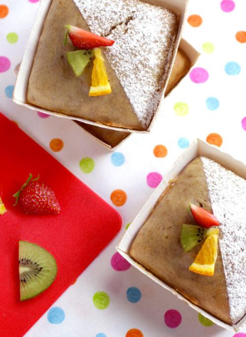 Gâteau vegan à la banane recette LA PATELIERE