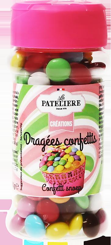 Dragées confettis LA PATELIERE