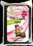 Pâte à sucre noire cake design LA PATELIERE