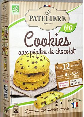 Préparation bio pour cookies LA PATELIERE