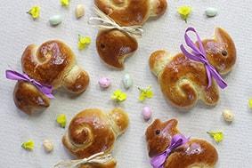 Brioches lapins Pâques recette LA PATELIERE