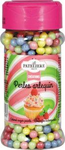 Perles arlequins colorées en sucre LA PATELIERE