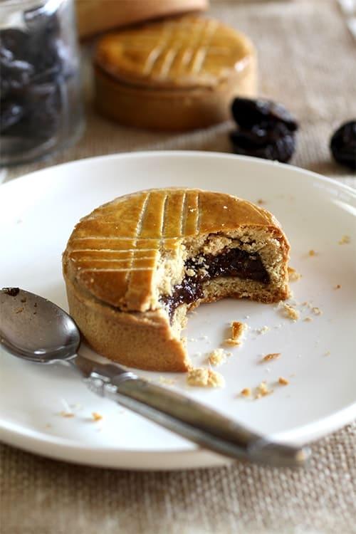 Mini tourtes gâteaux basques aux pruneaux d'Agen recette LA PATELIERE
