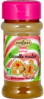 Cannelle moulue bio LA PATELIERE