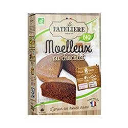 Préparation bio pour moelleux au chocolat LA PATELIERE