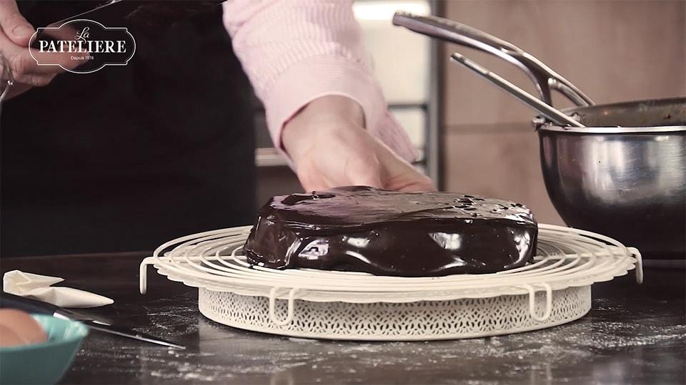 Gâteau fondant au chocolat préparation bio recette LA PATELIERE