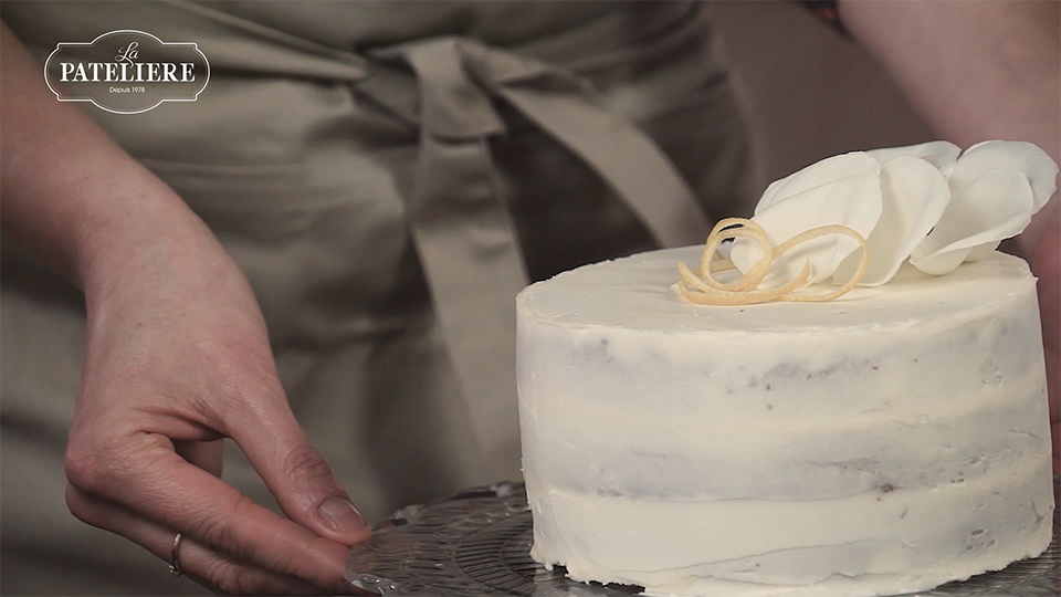 Layer cake au citron préparation bio recette LA PATELIERE