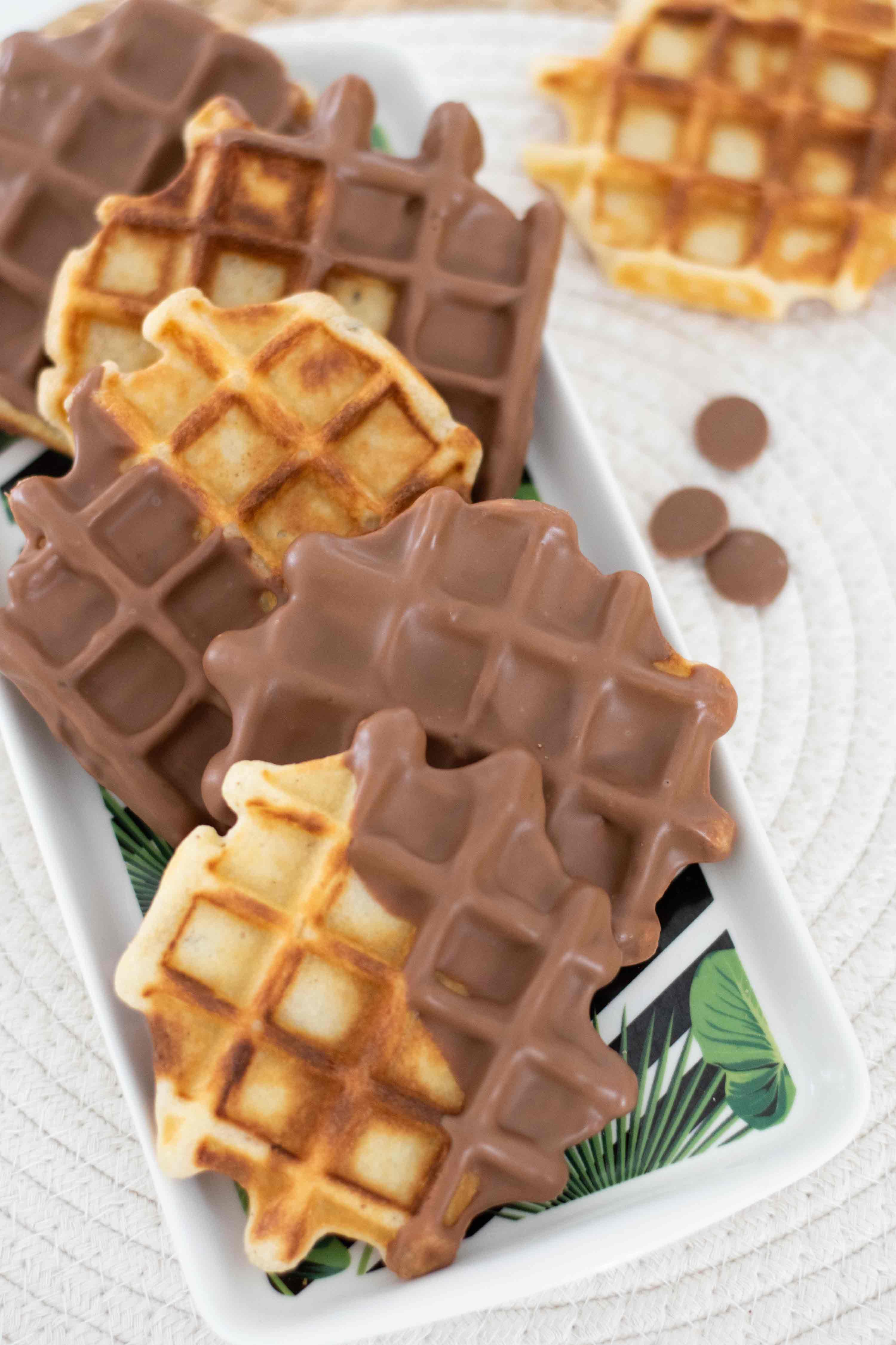 gaufre chocolat elise dit à table LA PATELIERE