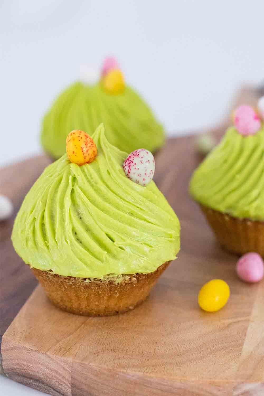 muffins citron glaçge chocolat oeufs pâques LA PATELIERE