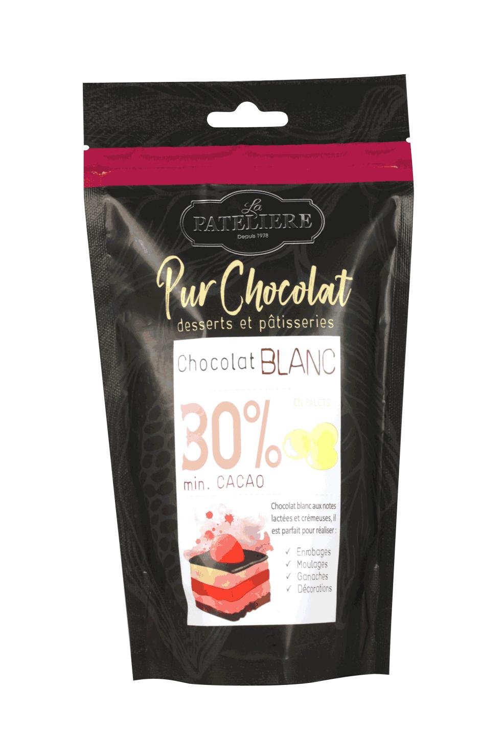 palets chocolat de couverture à pâtisser LA PATELIERE