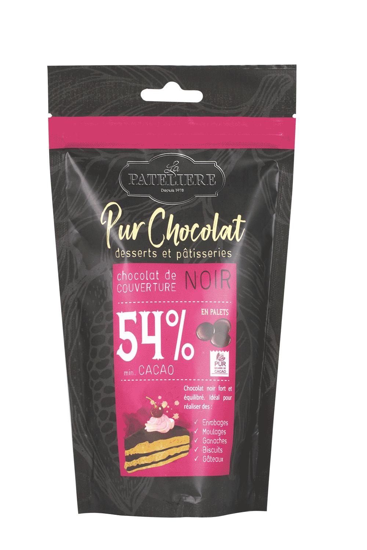 palets chocolat couverture à pâtisser LA PATELIERE