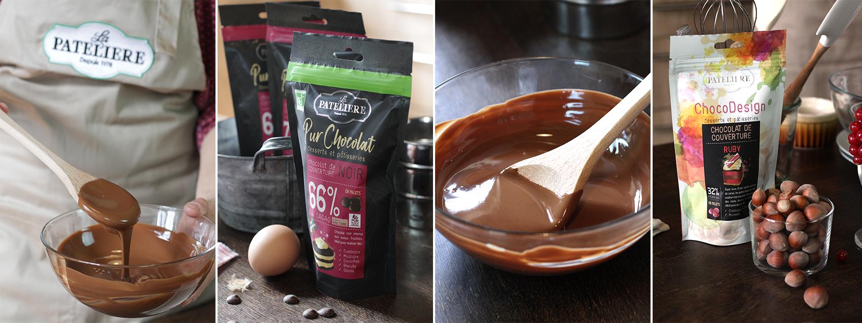 gamme pur chocolat