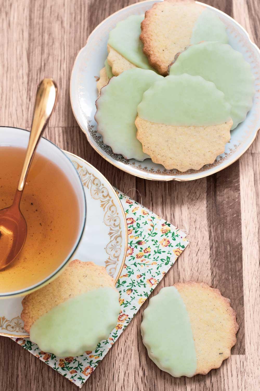 sablés glaçage chocolat à pâtisser citron elise dit à table LA PATELIERE