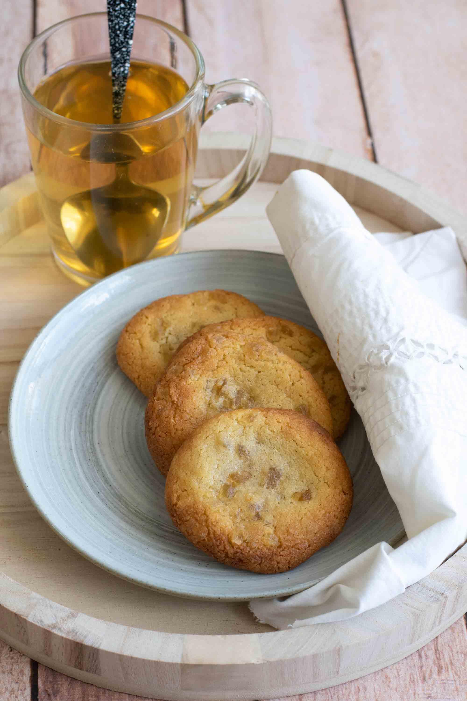 cookies gingembre confit ginger delice elise dit à table LA PATELIERE
