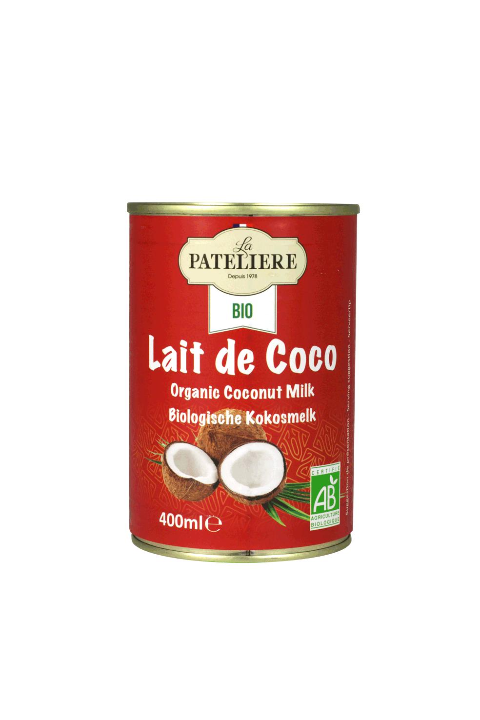 lait-coco bio LA PATELIERE