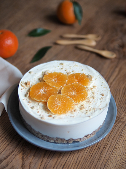 Cheesecake clémentine la pateliere